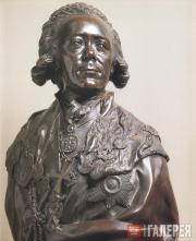 Shubin Fedot. Portrait of Emperor Paul I. 1800