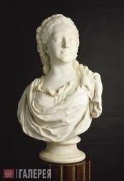 Shubin Fedot. Portrait of Alexandra Demidova. 1772