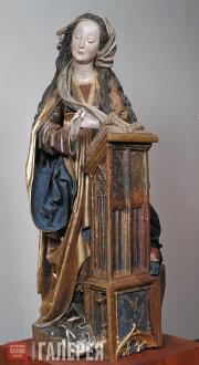Неизвестный скульптор из Братиславы или Вены. Дева Мария. Из скульптурной группы