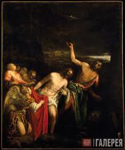 Якопо Бассано.  Крещение