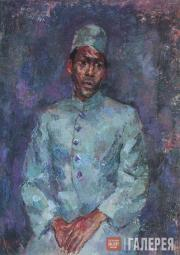 Falk Robert. Portrait of an Indian boy