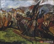 Soutine Chaim. Céret Landscape. 1919