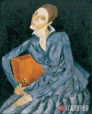 В.М.ЕРМОЛАЕВА. Портрет неизвестной. 1910-е (?)