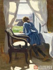Aleхei STEPANOV. Girl at the Window