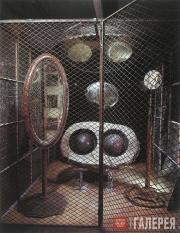 LOUISE BOURGEOIS. Cell (Eyes and Mirrors). 1989–1993