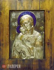 Tsigal Alexander. Our Lady of Vladimir. 1988