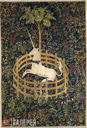 Неизвестный художник. Пленение единорога. 1495–1505