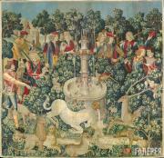 Неизвестный художник. Единорог обнаружен. 1495 –1505