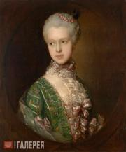 Gainsborough Thomas. Elizabeth Wrottesley, later Duchess of Grafton. 1764-1765
