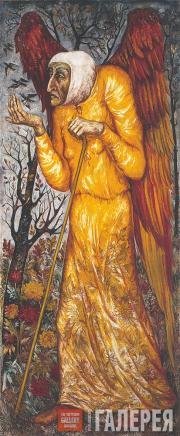 Н.С. Гончарова. Осень. Панно для особняка С.А. Кусевицкого. 1922