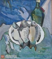 Toidze Natella. Fish. 1967