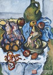 Toidze Natella. Still-life in the Kitchen. 1974