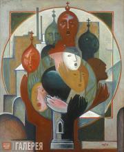 Tokarev Alexander. The Choir. 1991