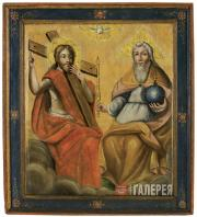 Неизвестный художник. Троица Новозаветная. Конец XVIII в.