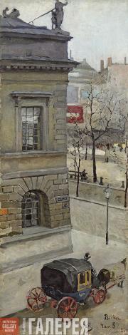 Якунчикова Мария. Улица в Берлине. 1889