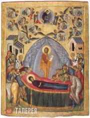 Неизвестный художник. Успение. Первая четверть XV века