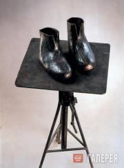 Dronov Mikhail. Valenki (Winter felt boots). 2001