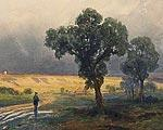 Ф.А.ВАСИЛЬЕВ. После проливного дождя. 1870