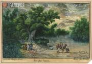 Grigory PLASTOV. The View of the  Jordan River. January 19 1883