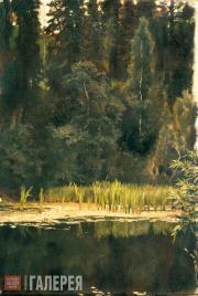 В.М.ВАСНЕЦОВ. Аленушкин пруд. 1881. Этюд