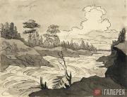 М.Н.ВОРОБЬЕВ. Иматра. 1830-е