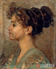 Портрет Насти Врубель. 1894