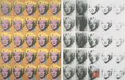 Warhol Andy. Marilyn. Diptych. 1962