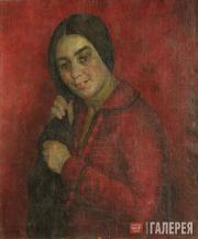 Falk Robert. Woman Combing Her Hair. 1926