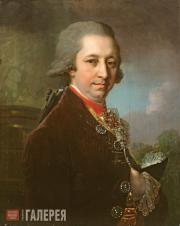 Vladimir  Borovikovsky. Portrait of Ivan Mikhailovich Yakovlev. 1800