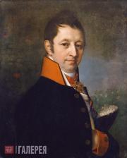 Vladimir  Borovikovsky. Portrait of Ivan Mikhailovich Yakovlev. 1810s