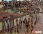 Якунчикова Мария. Сырой январь (Meudon). 1898