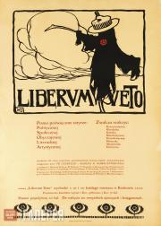 """Яроцки Владислав. """"Liberum veto"""" – современный сатирический журнал. 1905"""