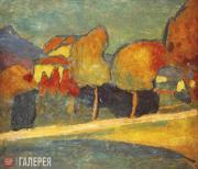 Jawlensky Alexei. Landscape. Murnau. 1907