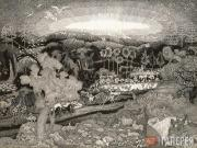 Юон Константин. Царство животных из цикла «Сотворение мира». 1908–1909