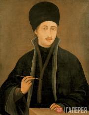 Захария ЗОГРАФ. Автопортрет. Ок. 1838