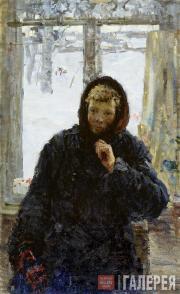 Tkachev Alexei. Zina by the Window. 1955