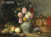 Khrutsky Ivan. Still-life. Fruit and Flowers. 1839