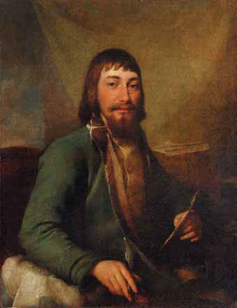 Dmitry LEVITSKY. Portrait of the Merchant Ivan Ivanovich Bilibin. 1788