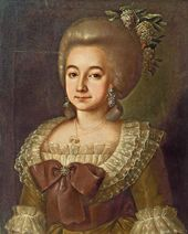 Grigory OSTROVSKY. Girl's Portrait. 1785