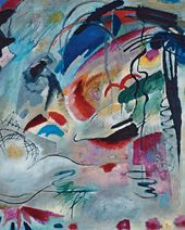 Vasily KANDINSKY. Improvisation. 1913. Detail