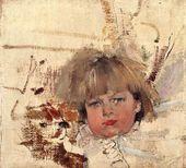 Nikolai Fechin. Portrait of Misha Bardukov. 1914