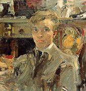 Nikolai Fechin. Self-portrait. 1920