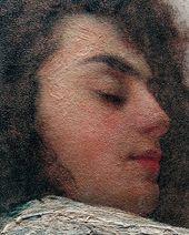 Sophia YUNKER-KRAMSKAYA. The Sleeping Woman. End 1880s – Early 1890s