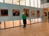 The exhibition's halls. Designed by Gennady Sinev