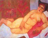 """Mikhail LARIONOV. """"Russain"""" Venus. 1912"""