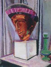 Gustaw GROZDECKI. Still Life with Mask. 1913