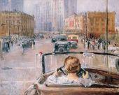 Yuri PIMENOV. New Moscow. 1937