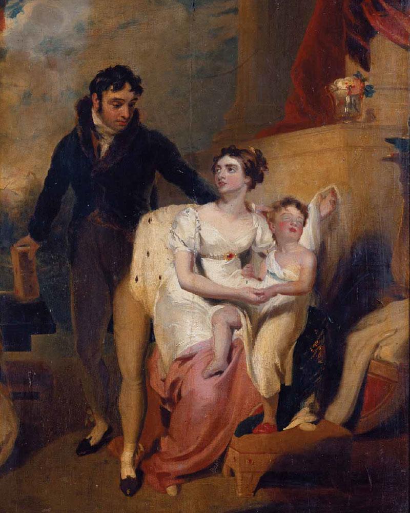 Thomas LAWRENCE. Family Portrait. 1810–1820