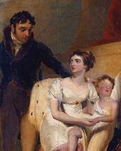 Thomas LAWRENCE. Family Portrait. Detail