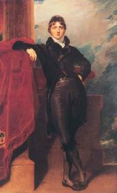 Thomas LAWRENCE. Lord Granville Levenson-Gower, later 1st Earl Granville. Begun 1804